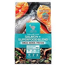 BILLY + MARGOT® Single Protein Adult Dog Food - Salmon & Superfood Blend, Natural, Grain Free