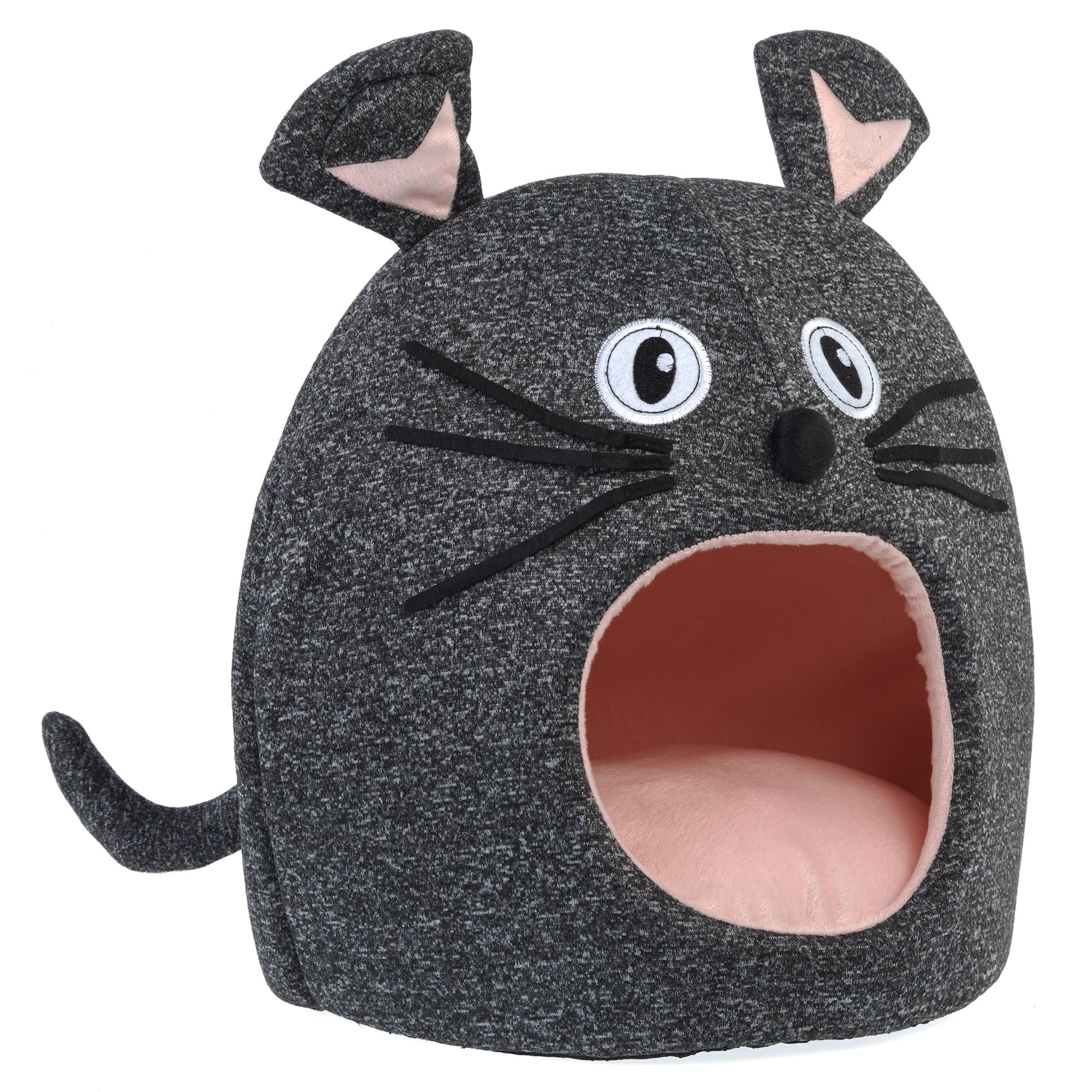 Peachy Whisker City Mouse Cat Bed Hut Customarchery Wood Chair Design Ideas Customarcherynet