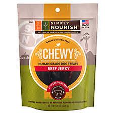 Simply Nourish ™ Human Grade Smoked Jerky Dog Treats