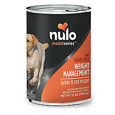 Nulo Medal Series Weight Management Wet Dog Food - Grain Free, Turkey & Cod
