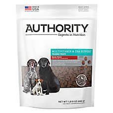 Authority® Multivitamin & DHA Support Trainning Treats