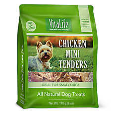VitaLife Chicken Mini Tenders Dog Treat - Natural