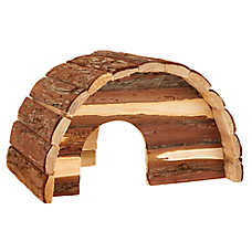 All Living Things® Wood Dome Small Pet Hide