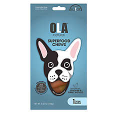 OLA ™ Natural Superfood Chews, Chicken & Sweet Potato, Large Bone