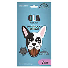 OLA ™ Natural Superfood Chews Twisty Stick Dog Treats