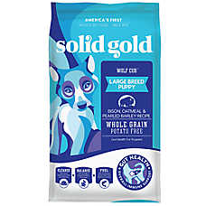 Solid Gold Wolf Cub® Puppy Food - Grain Free, Gluten Free, Potato Free