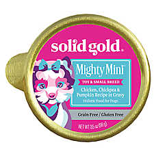Solid Gold Mighty Mini™ Toy & Small Breed Dog Food - Grain Free, Gluten Free