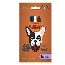 OLA ™ Natural Superfood Chews Twisty Stick Dog Treats