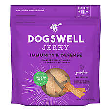 DOGSWELL® Immunity & Defense Jerky Dog Treat - Chicken, Grain Free