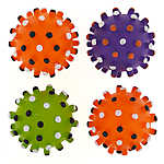Thrills & Chills™ Halloween Spooky Ball Dog Toys - 4 Pack