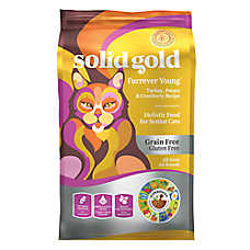 Solid Gold Furrever Young™ Cat Food - Turkey, Potato & Cranberry, Grain Free, Gluten Free