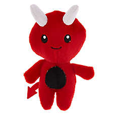 Thrills & Chills™ Halloween Devil Dog Toy - Plush, Squeaker