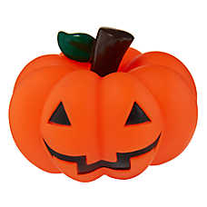 Thrills & Chills™ Halloween Pumpkin Dog Toy - Squeaker