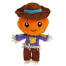 Thrills & Chills™ Halloween Scarecrow Dog Toy - Plush, Squeaker