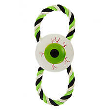 Thrills & Chills™ Halloween Spooky Eyeball Rope Dog Toy