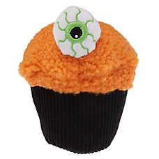 Thrills & Chills™ Halloween Creepy Cupcake Dog Toy - Plush, Squeaker