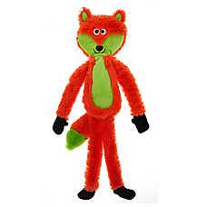 Top Paw® Fox Flattie Dog Toy - Crinkle
