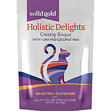 Solid Gold Holistic Delights™ Creamy Bisque Cat Food - Grain Free, Gluten Free