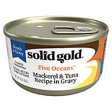 Solid Gold Five Oceans™ Cat Food - Shreds, Grain Free, Gluten Free