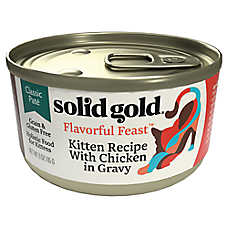 Solid Gold Flavorful Feast™ Kitten Food - Classic Pate, Grain Free, Gluten Free