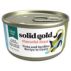 Solid Gold Flavorful Feast™ Cat Food - Classic Pate, Grain Free, Gluten Free