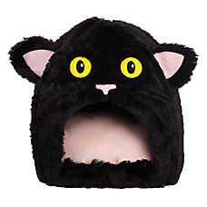 Thrills & Chills™ Halloween Cat Pet Hut Bed