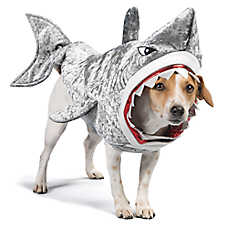 thrills halloween shark pet costume