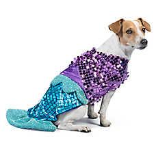 Thrills u0026 Chillsu0026trade; Halloween Mermaid Pet Costume  sc 1 st  PetSmart & Dog Costumes: Shop Small u0026 Large Dog Costumes | PetSmart