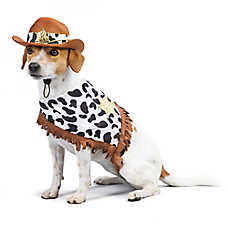 Thrills & Chills™ Halloween Western Sheriff Pet Costume