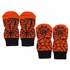 Thrills & Chills™ Spiderweb Halloween Pet Socks