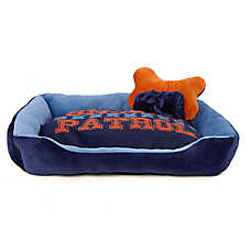 "Grreat Choice® ""Snooze Patrol"" Cuddler Pet Bed Gift Set"