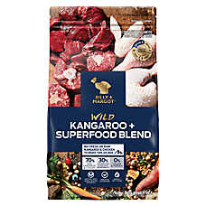 BILLY + MARGOT® Single Protein Dog Food - Wild Kangaroo & Superfood Blend, Grain Free, High Protein