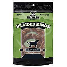 Redbarn Braided Rings Dog Treats