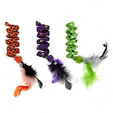 Thrills & Chills™ Halloween Spooky Springs Cat Toys - 3 Pack