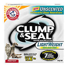 ARM & HAMMER ™ Clump & Seal Cat Light Weight Litter - Clumping, Deodorizer, Multi-Cat