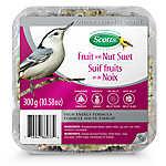 Scotts® Fruit & Nut Suet Wild Bird Food