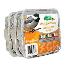 Scotts® Suet Variety Wild Bird Food - 3 Pack