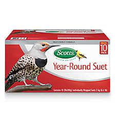 Scotts® Year-Round Suet Wild Bird Food - 10 pack
