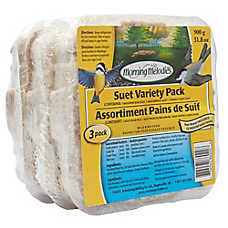 Morning Melodies™ Suet Variety Pack - 3 Pack