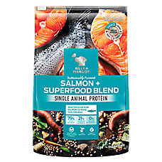 BILLY + MARGOT Dog Food - Salmon & Superfood Blend, Grain Free, Natural, Raw, Limited Ingredient