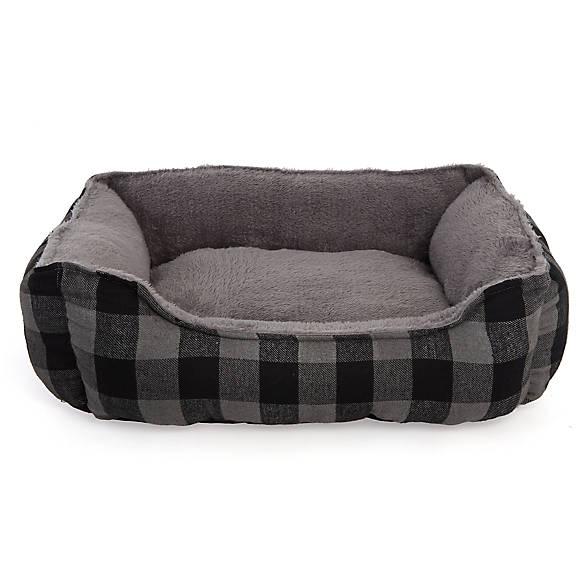 Grreat Choice 174 Buffalo Check Cuddler Pet Bed Dog Cuddler