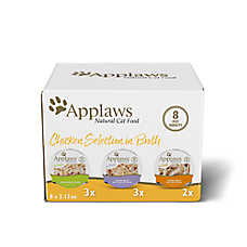 Applaws Wet Cat Food - Natural, Limited Ingredient, Multipack 8 ct