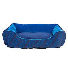 Grreat Choice® Paw Stripe Cuddler Pet Bed