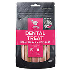 BILLY + MARGOT® Dental Treat  - Grain Free, Strawberry & Mint