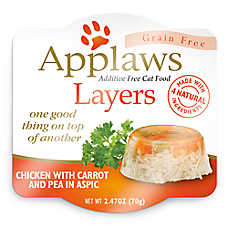 Applaws Layers Wet Cat Food - Natural, Grain Free, Limited Ingredient