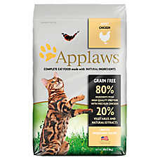 Applaws Adult Cat Food - Natural, Grain Free, Limited Ingredient, Chicken