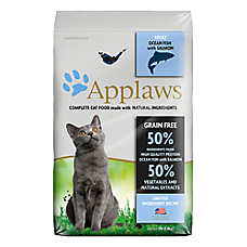 Applaws Adult Dry Cat Food - Natural,Limited Ingredient, Ocean Fish with Salmon