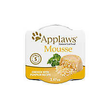 Applaws Mousse Wet Cat Food - Grain Free, Limited Ingredient, Natural, 2.47 oz