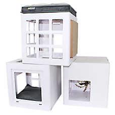 Be One Breed® Katt3 Trendy Customizable Cat House Starter Kit