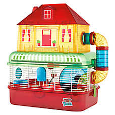 All Living Things® Tiny Tales™ Comfy House Small Pet Habitat